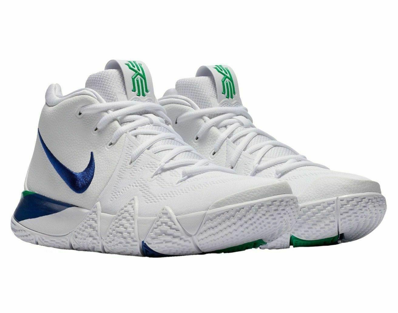 Nike Mens Basketball White Royal Blue Seahawks NIB
