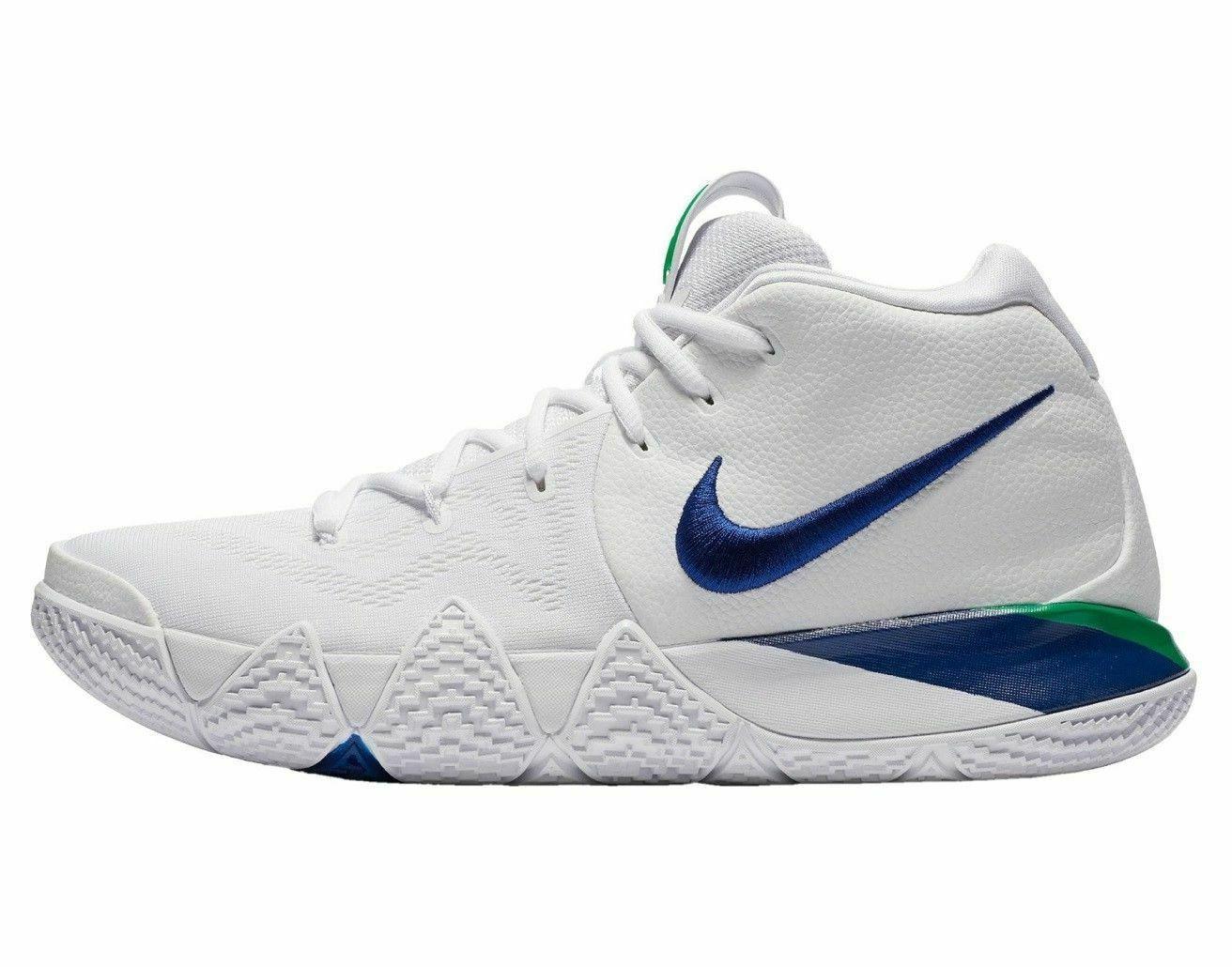 Nike Kyrie Basketball 943806 White Blue Seahawks