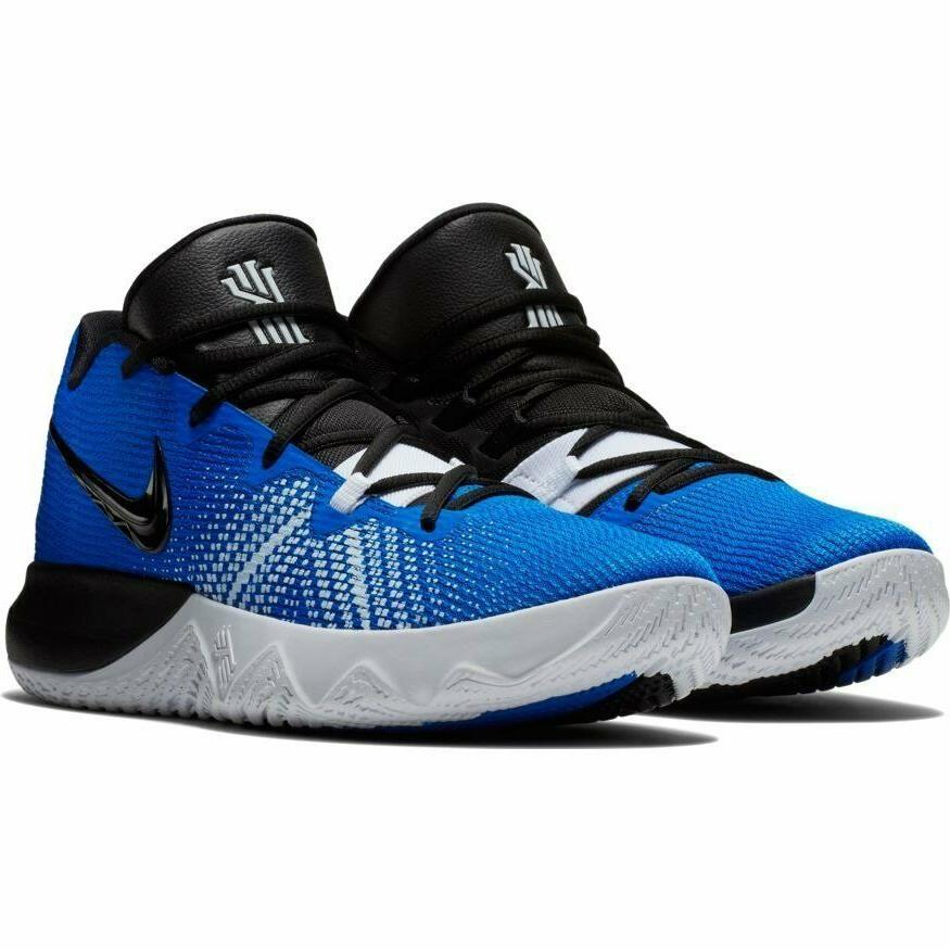 kyrie flytrap basketball shoes blue black white