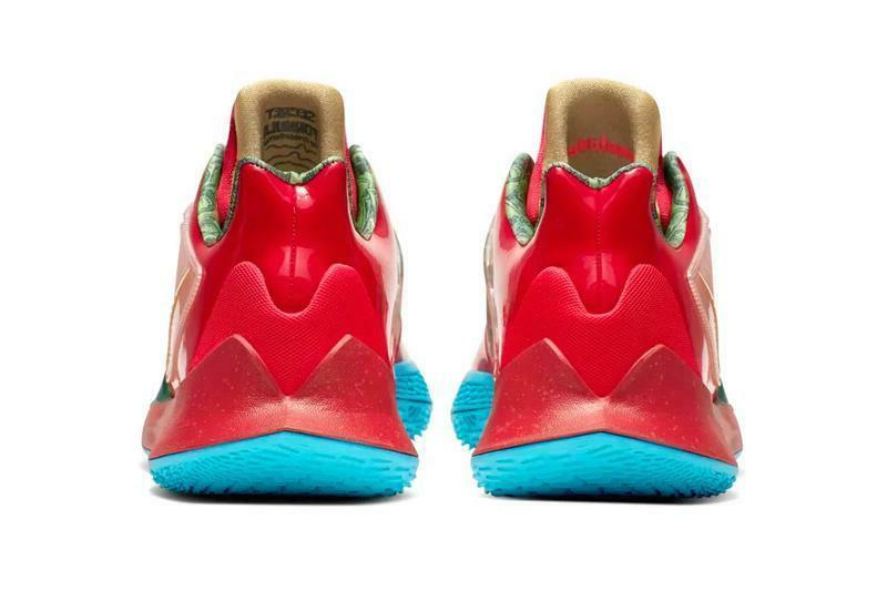 Kyrie Mr Krabs spongebob basketball shoes men's