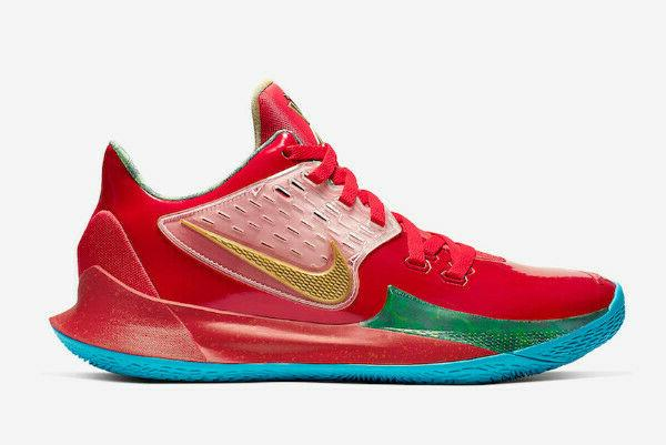 kyrie mr krabs spongebob basketball shoes men