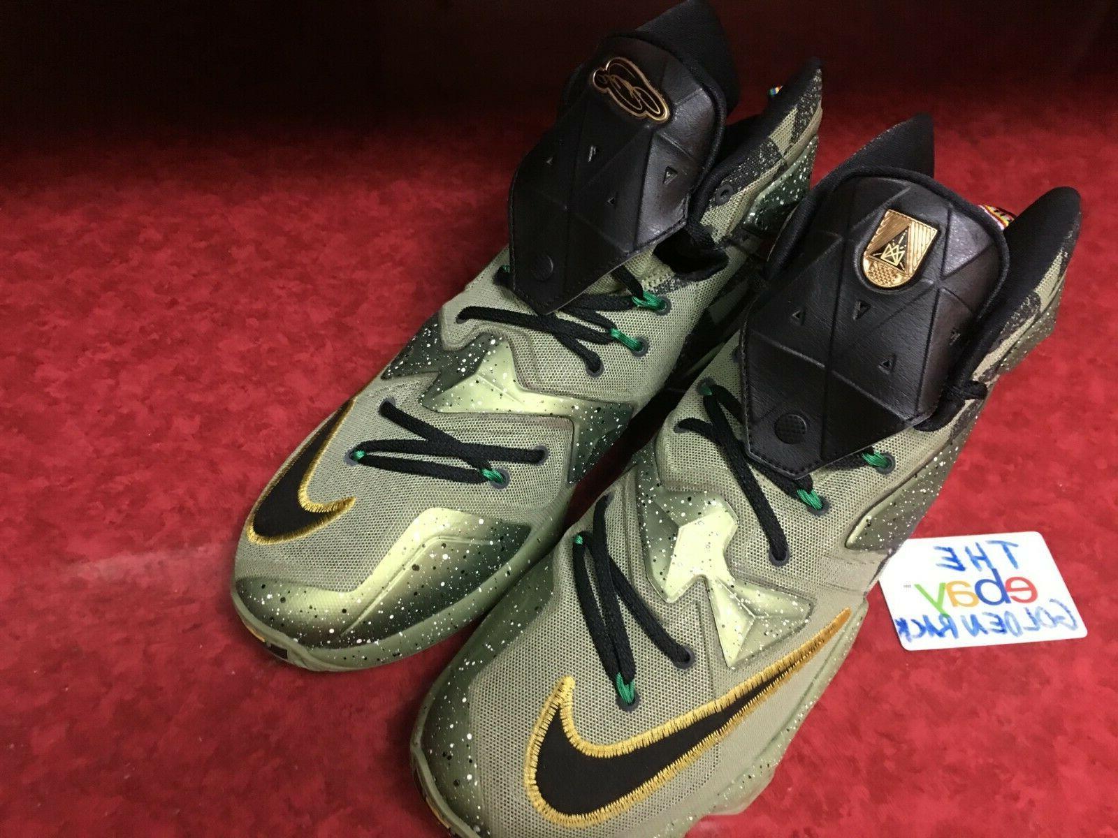 NIKE All Star Basketball Green Black 12 NIB