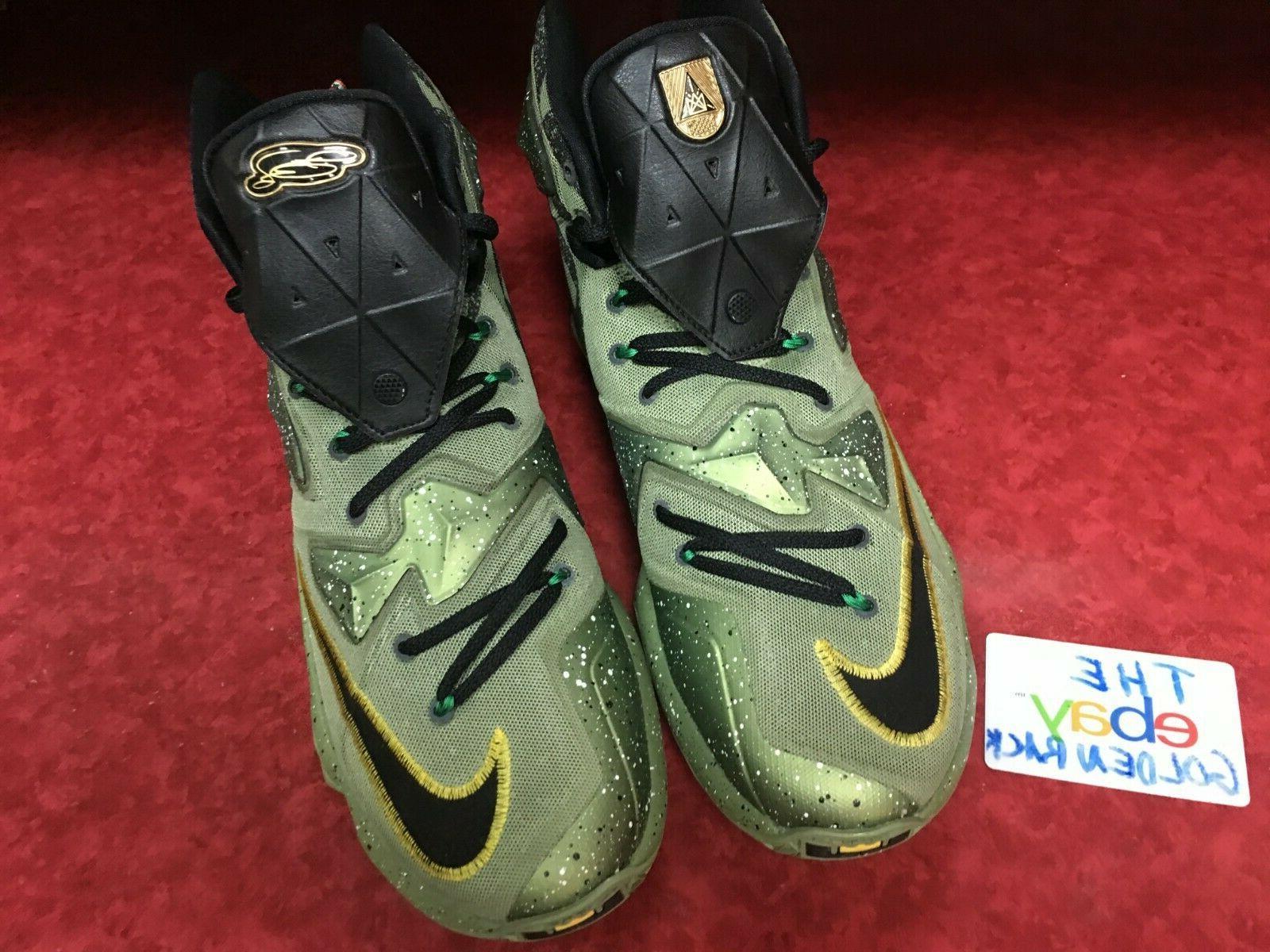 NIKE Star Shoes Green Black