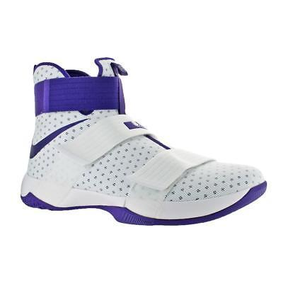 Nike LeBron Soldier 10 Men's Mesh High-Top Athletic Trainer