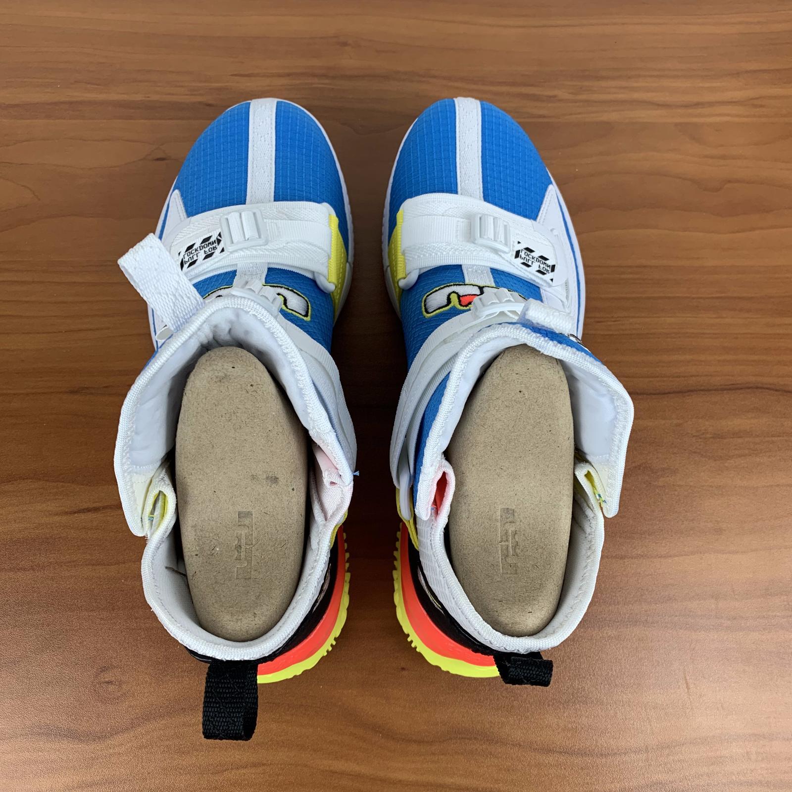 Nike Lebron Soldier 13 Basketball Shoes White AR4225-401 Men's 10.5