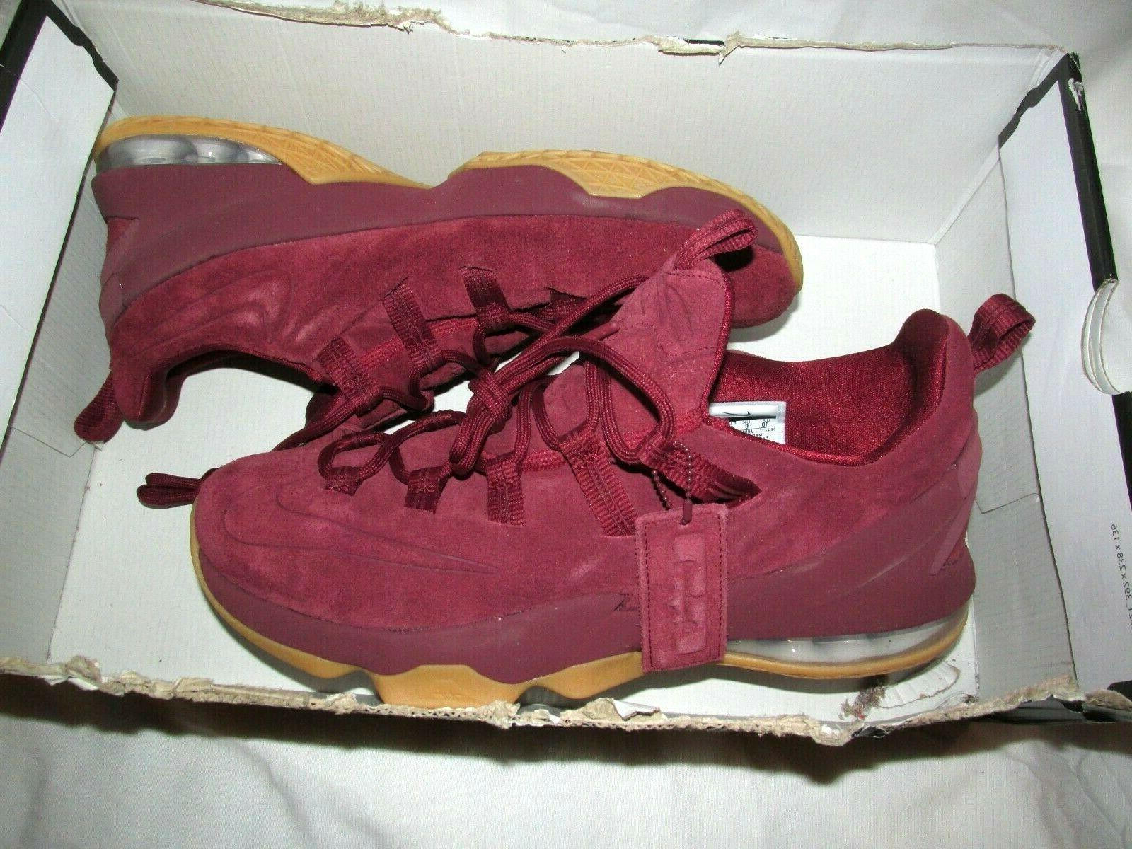 Nike Lebron 10 Team Red