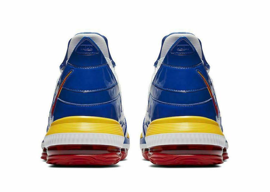 "Nike LeBron ""SuperBron"" White Basketball Shoes Men's NEW"