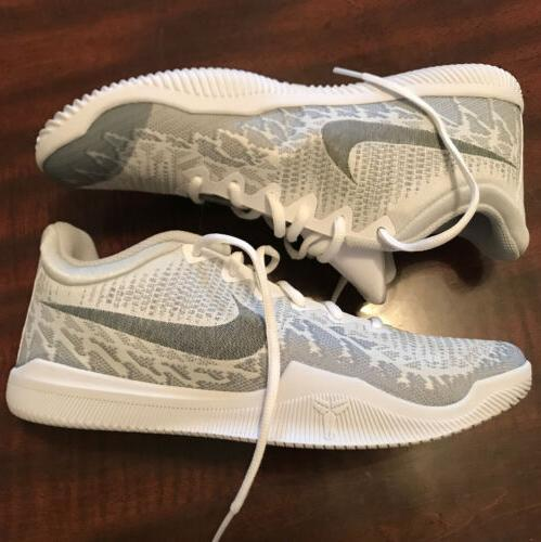 Nike Mamba Platinum Kobe Basketball Shoes NIB 8.5