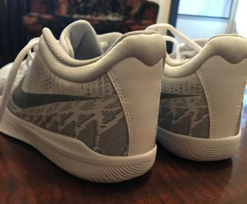 Nike Platinum Silver Basketball 8.5