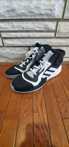 Adidas Marquee Boost Black/White 3 Stripe Basketball Shoes M
