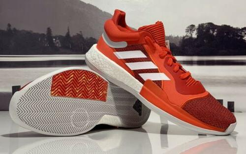marquee boost low basketball shoes red white