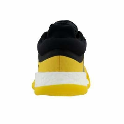 adidas Marquee Boost Casual Basketball Shoes Yellow -