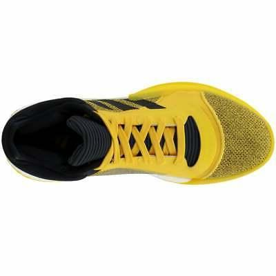 adidas Boost Casual Basketball Yellow Mens