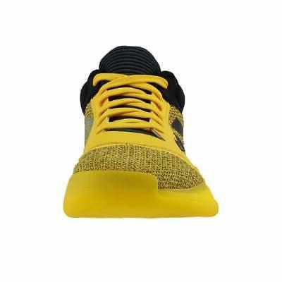 adidas Marquee Boost Low Casual Yellow Mens