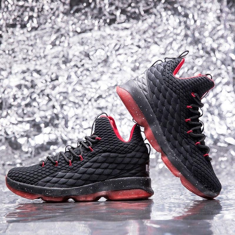 Men Ankle Elastic <font><b>Basketball</b></font> <font><b>Shoes</b></font> Zapatillas De Baloncesto