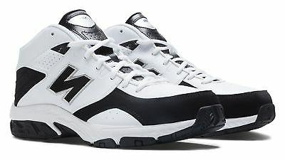 New Balance Men's 581 Shoes White with Black