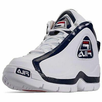 Fila Men's Hill Retro Basketball White Navy