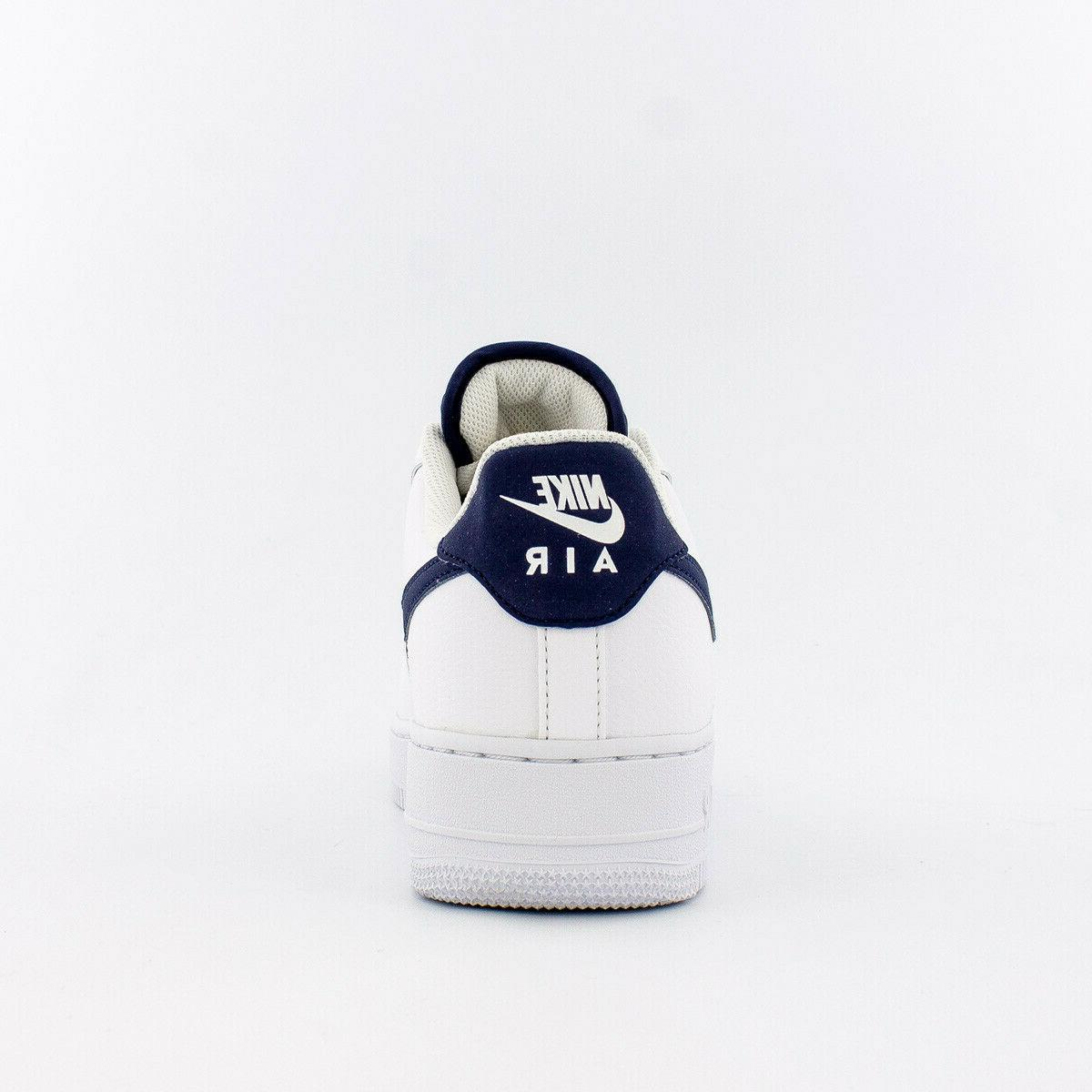 Men's Air 1 '07 Shoes CJ1607-100 White/Navy