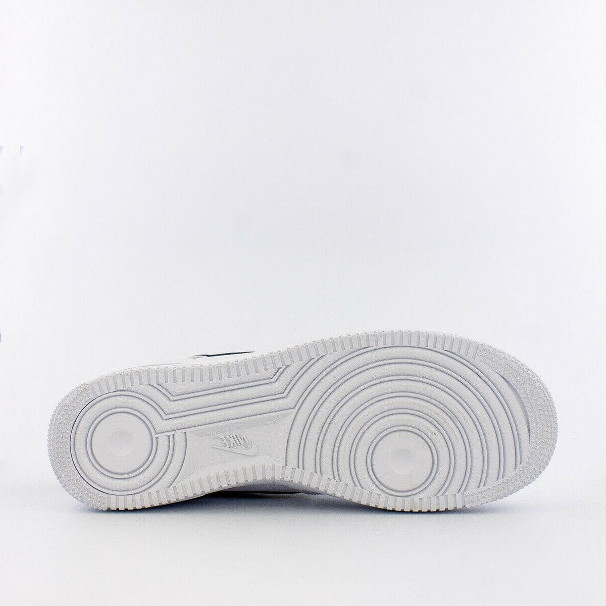 Men's Air Force 1 Basketball Shoes CJ1607-100 White/Navy