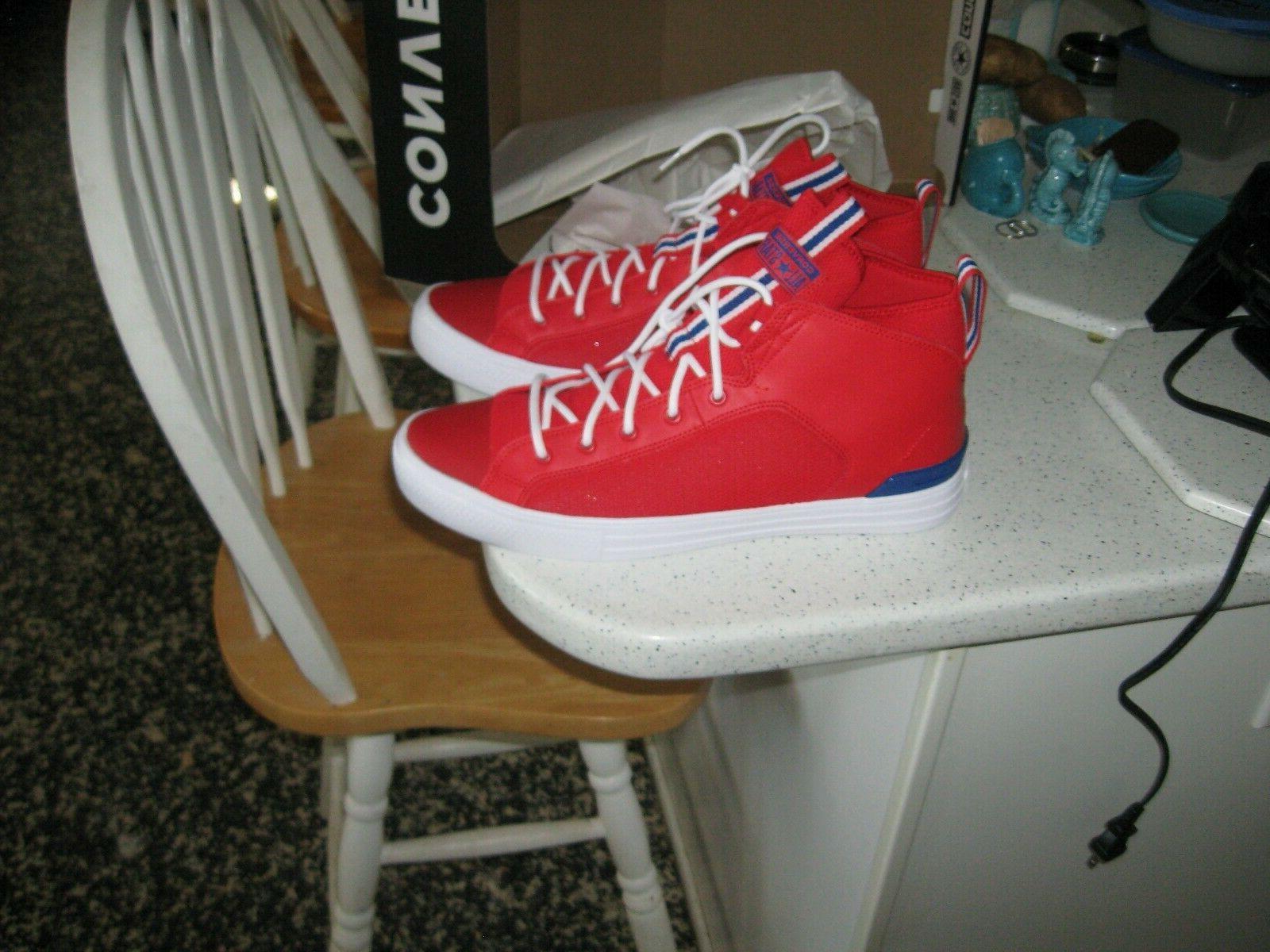 CONVERSE Men's Basketball Red Rush/Blue/White,Size Women,
