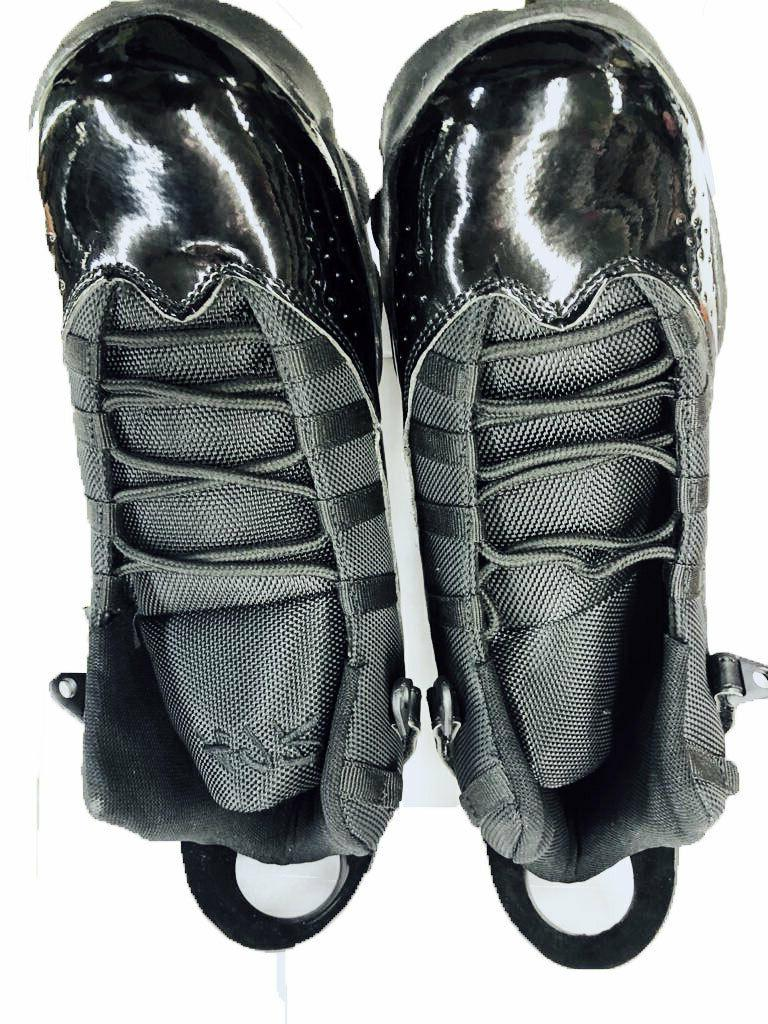 Men's Black High-top basketball shoes boots
