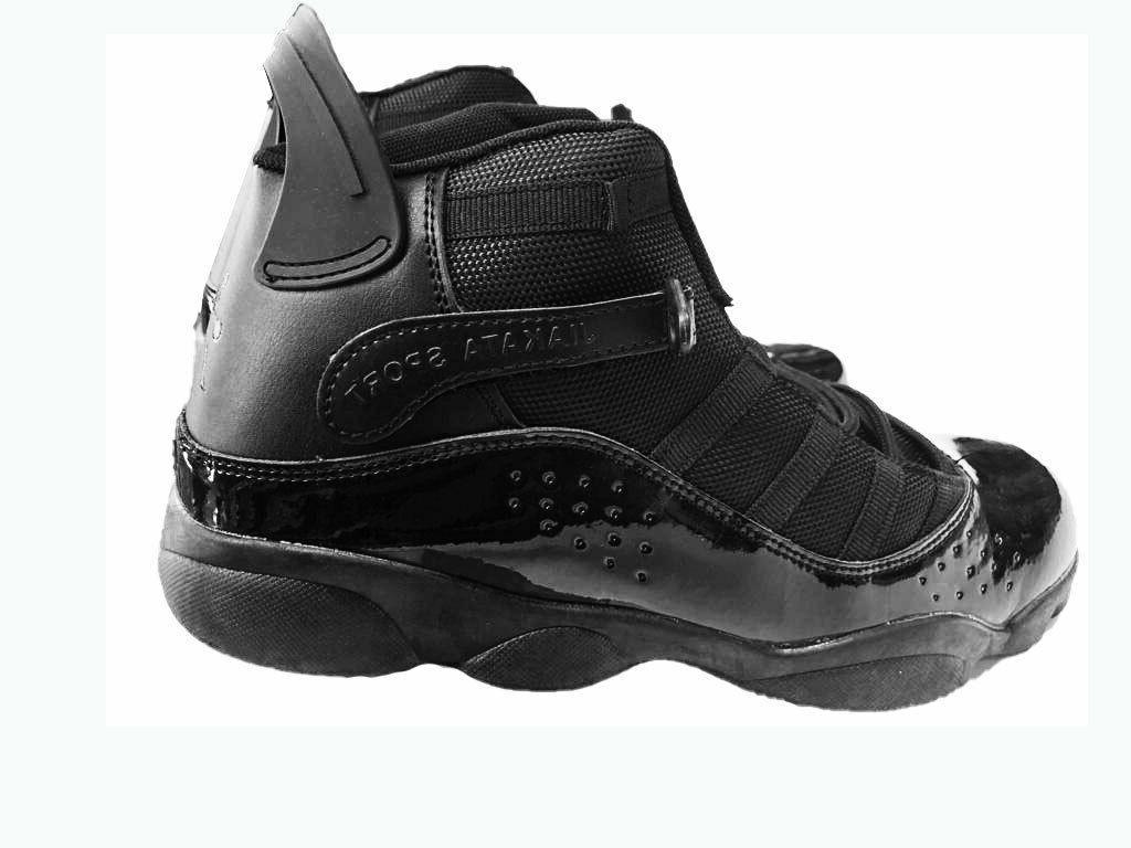Men's Black High-top shoes boots Tennis