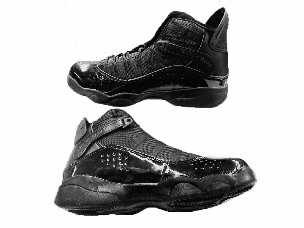 men s black high top basketball shoes