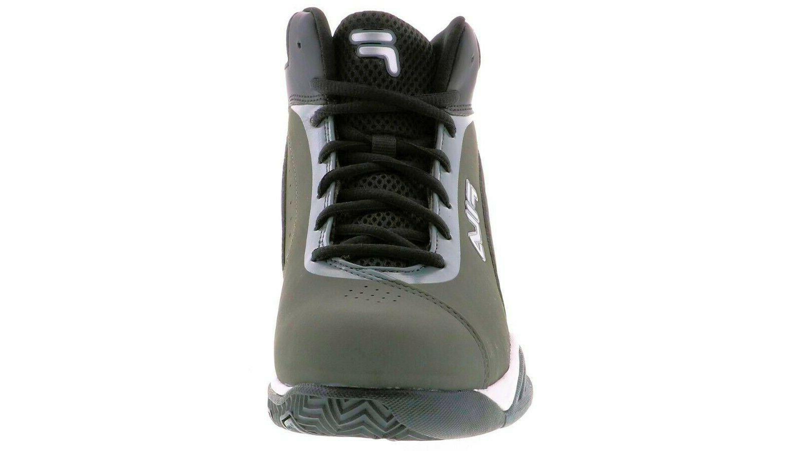 Men's Contingent Grey Basketball Sneakers 13