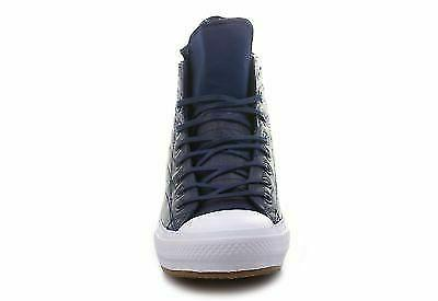 Men's Converse Size Blue Leather