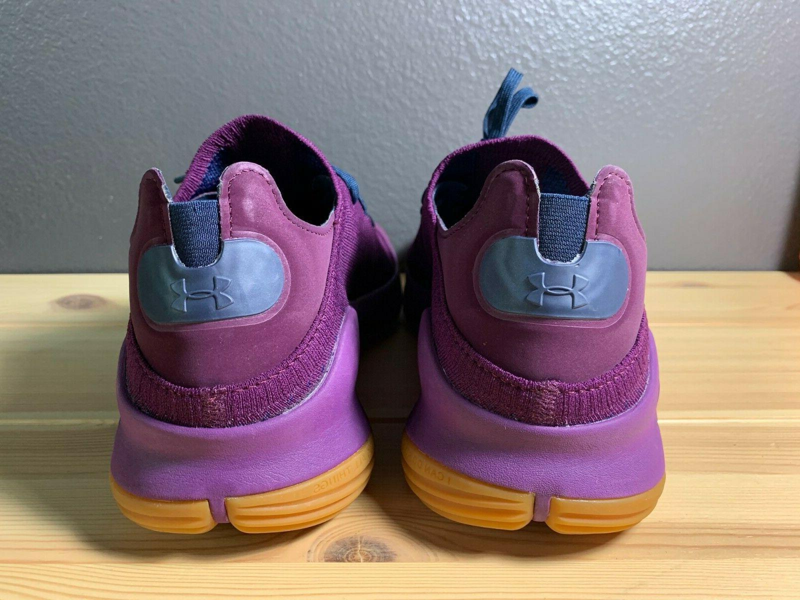 Men's Under 4 Merlot Purple Shoes 3000083-500