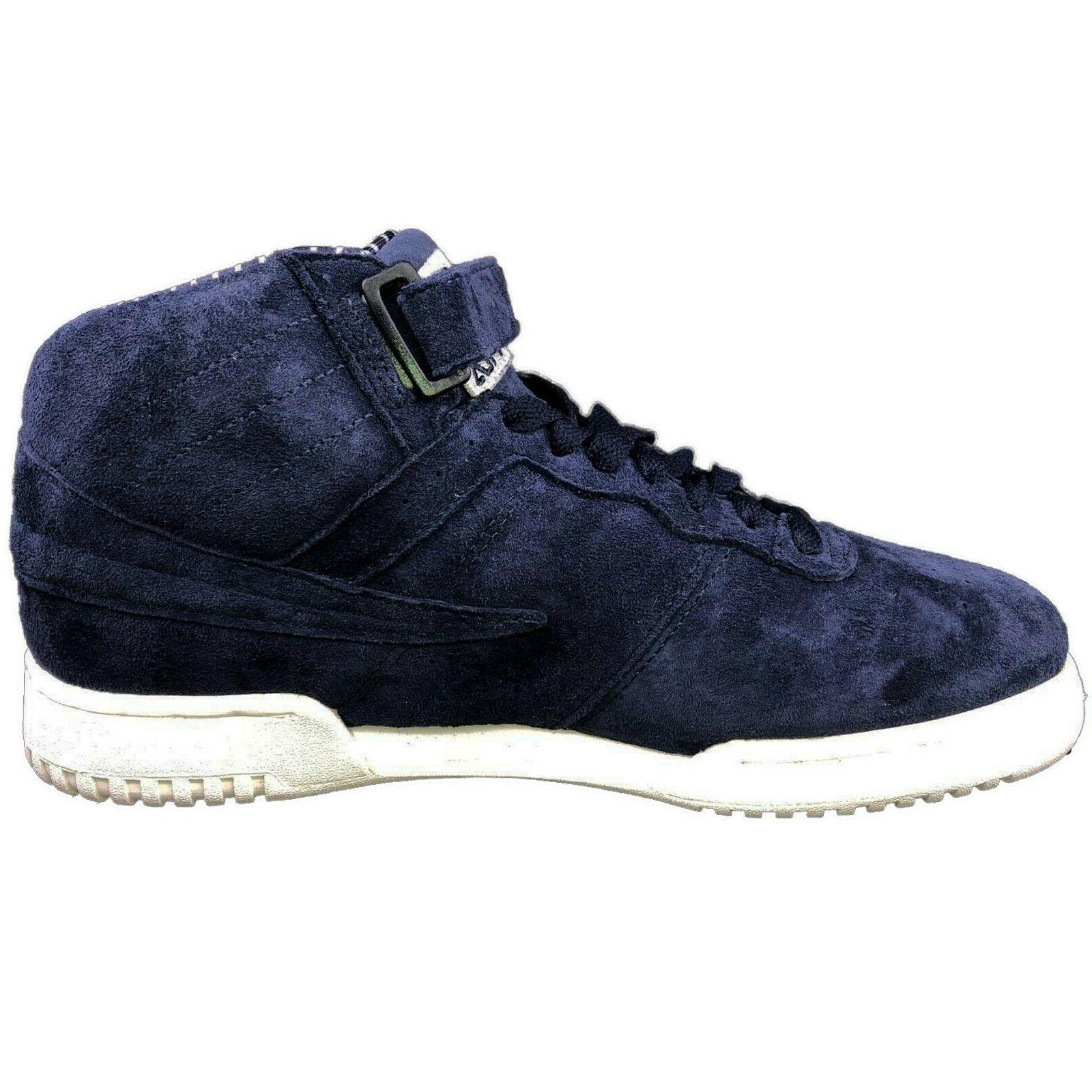 Fila Men's F13 F 13 Pinstripe High Mid Top Casual Basketball Shoes