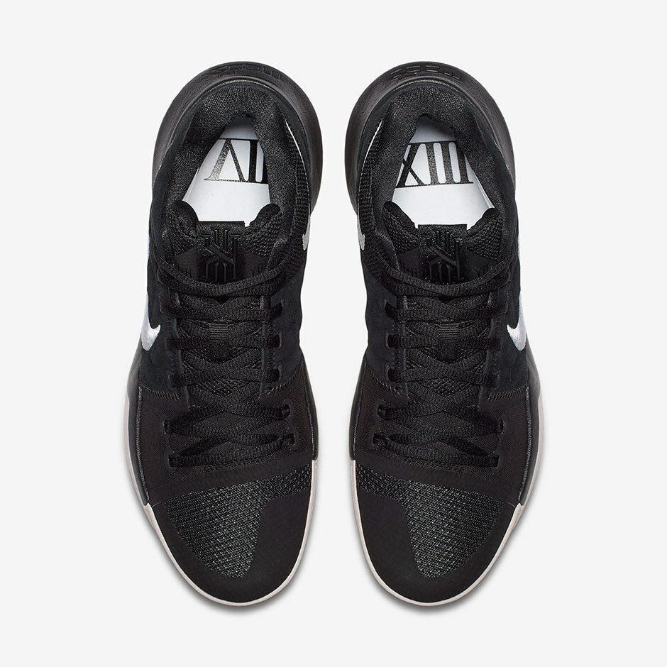 Nike Men's 3 BLACK Basketball Shoes Black/Silt b