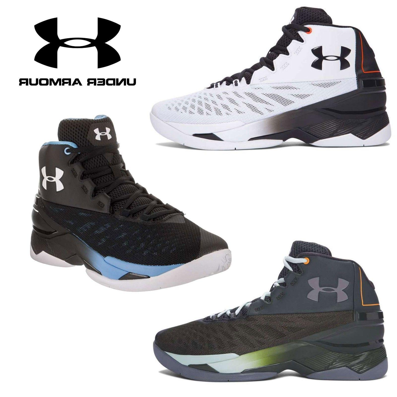 Men's Under Armour LongShot Mid Top Lace Up Micro G Basketba