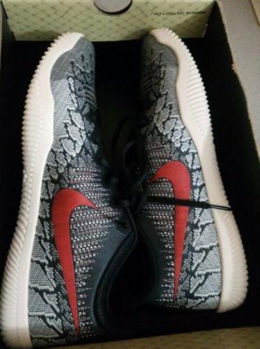 Nike Men's Mamba Basketball Shoes 11 Crimson/Sail