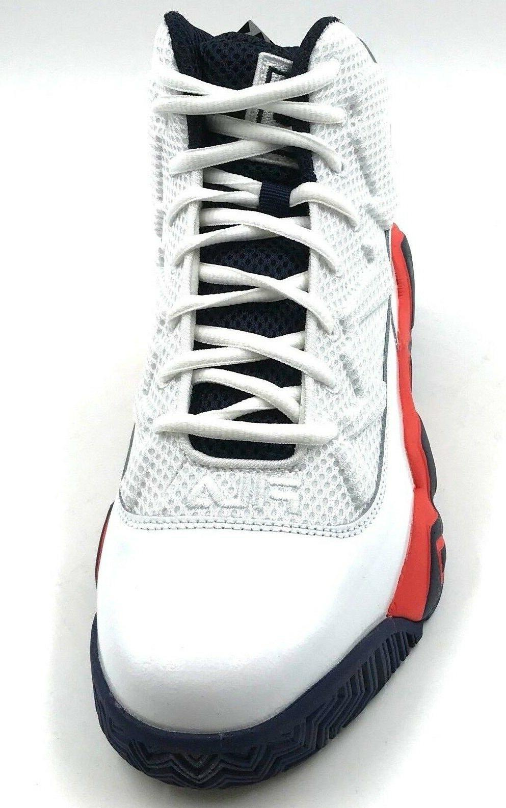 FILA Men's Sneaker Wht/Ctom/Fnvy