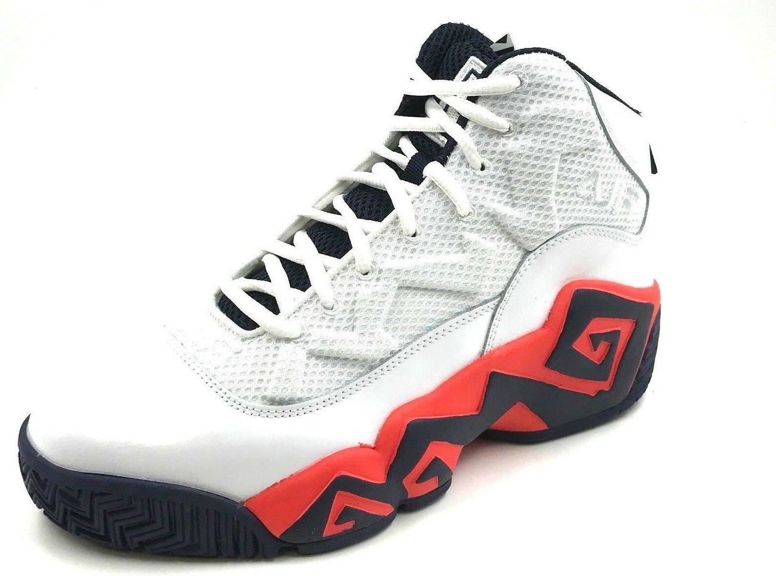 FILA Men's MB Sneaker Wht/Ctom/Fnvy
