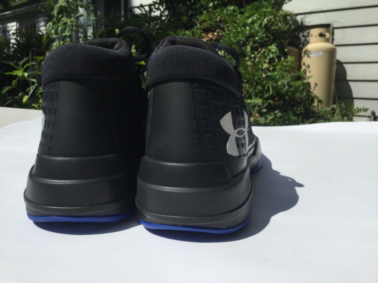 TB Basketball Shoe sneaker - Blue black 10.5