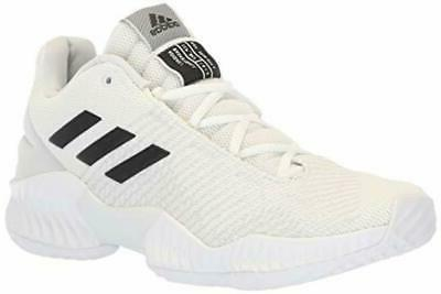 Adidas Men's Pro Bounce 2018 Low Basketball Shoe Black/Cryst
