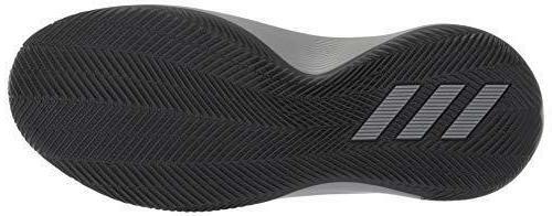 adidas Pro 2018 Basketball Shoe, Grey/Black/Grey
