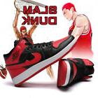 men s retro basketball boots shoes slamdunk