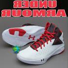 Under Armour Men's Size 10 UA Rocket Basketball Shoes White/
