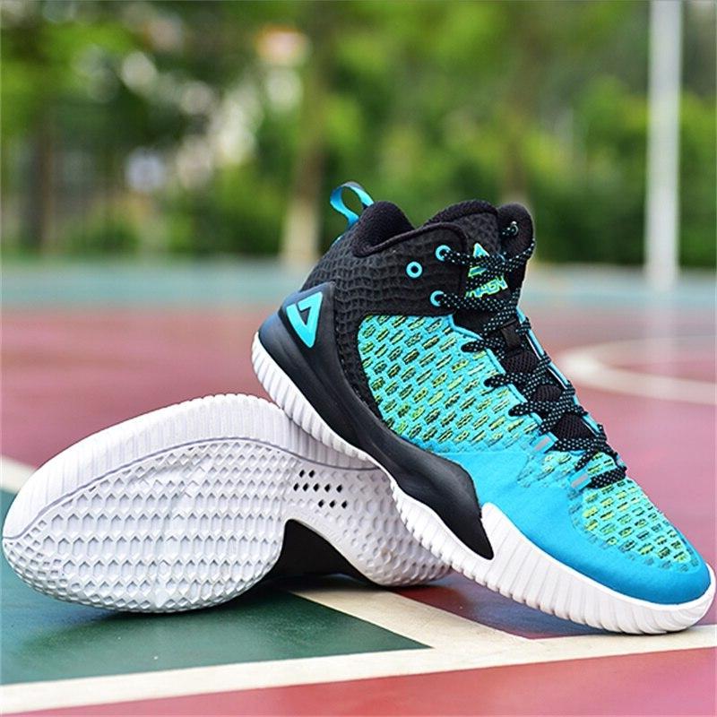 PEAK Men Master <font><b>Basketball</b></font> <font><b>Shoes</b></font> Wearable <font><b>Basketball</b></font> Gym Outdoor Sports
