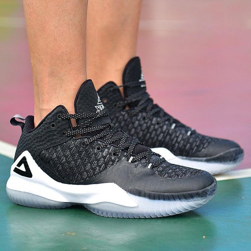 PEAK <font><b>Basketball</b></font> Breathable Anti-slip Wearable <font><b>Basketball</b></font> Sneakers Rebound Gym