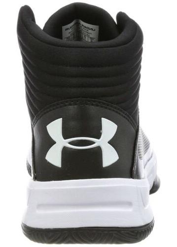 Men UA Armour Lockdown Basketball Black 1303265-001