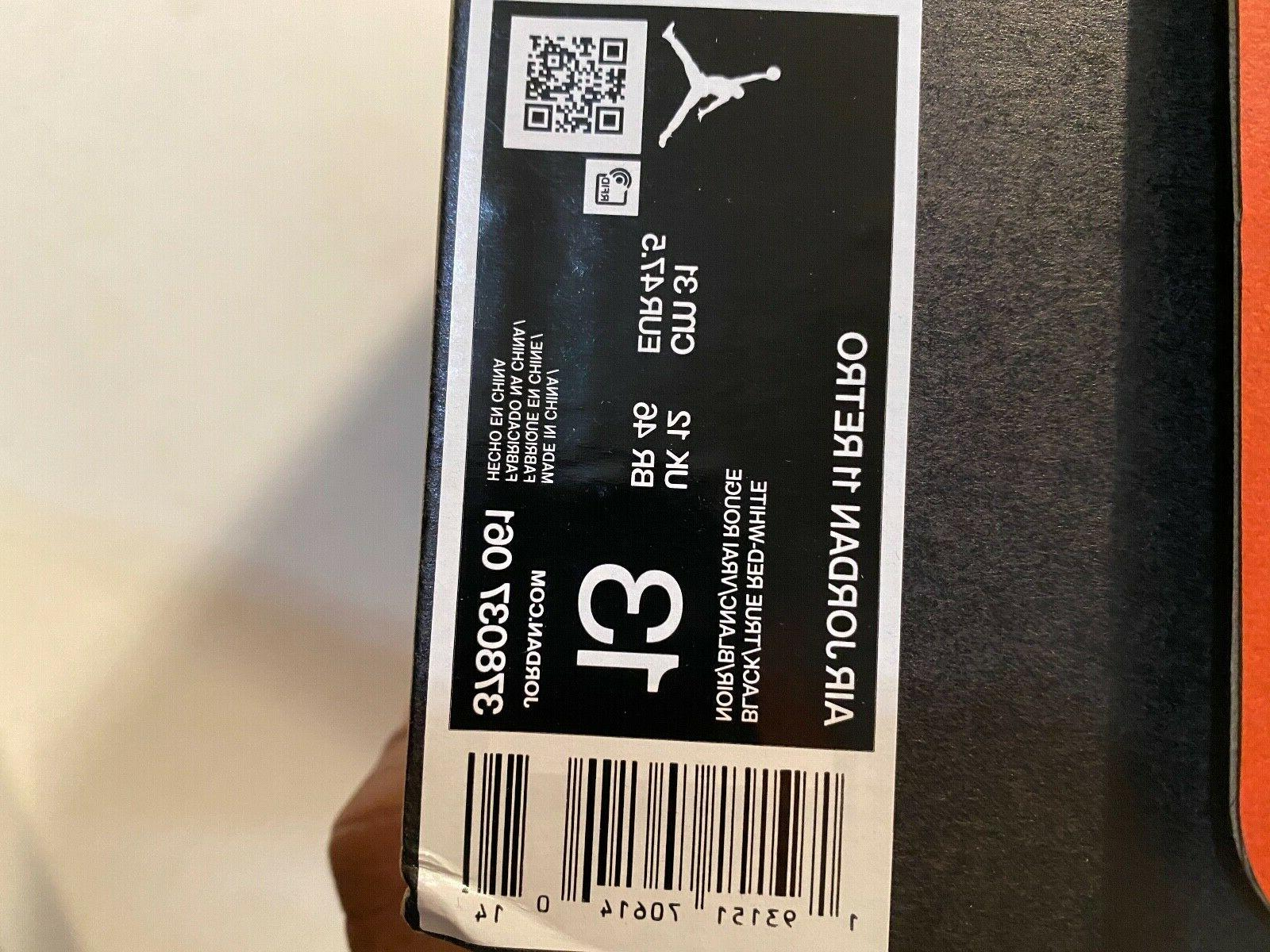 Mens Air Jordan 11 Retro 061 basketball shoes