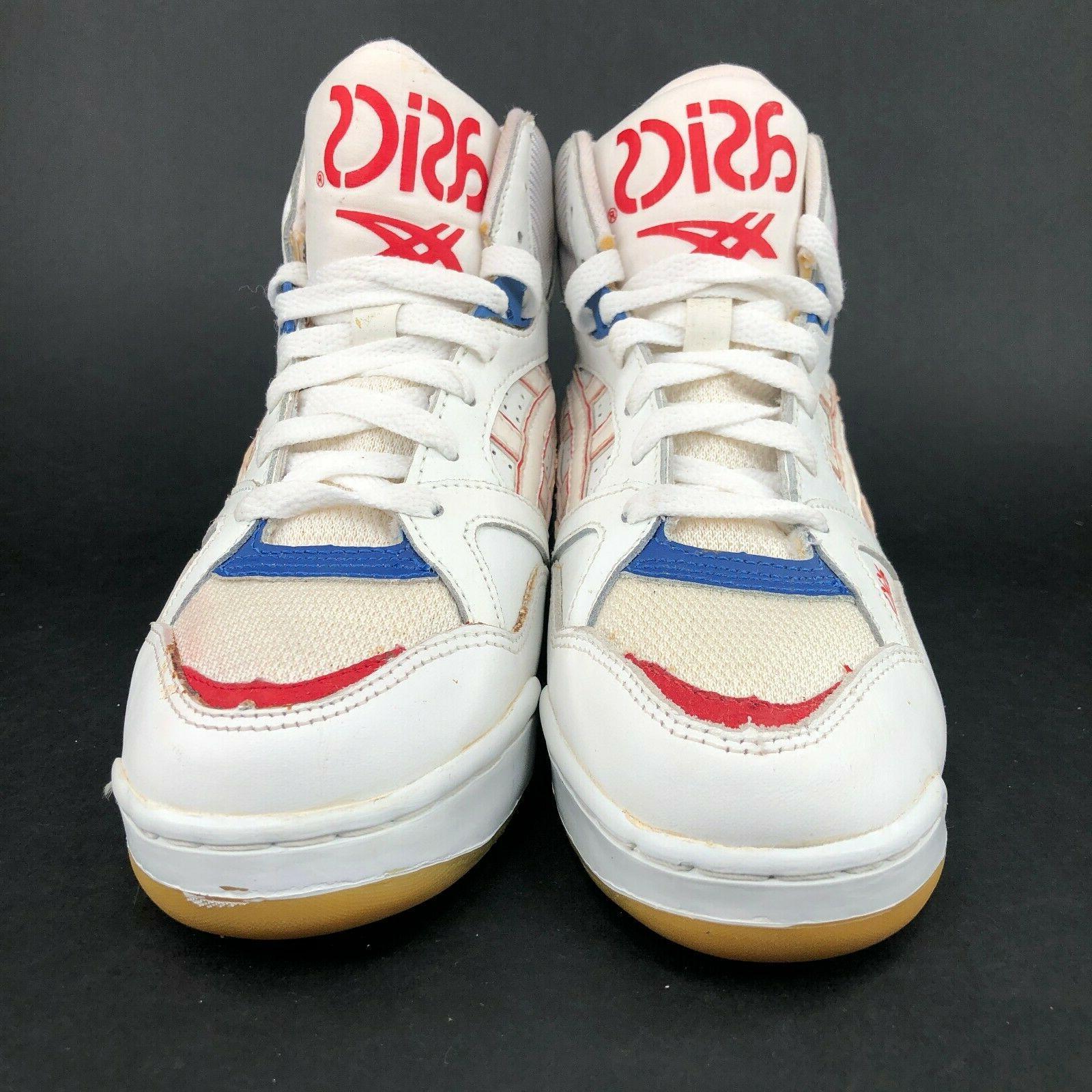 ASICS White Basketball Shoes Ups Great