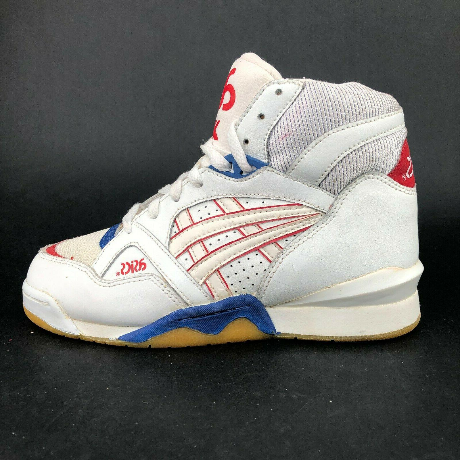 ASICS White High Basketball Sneakers Ups