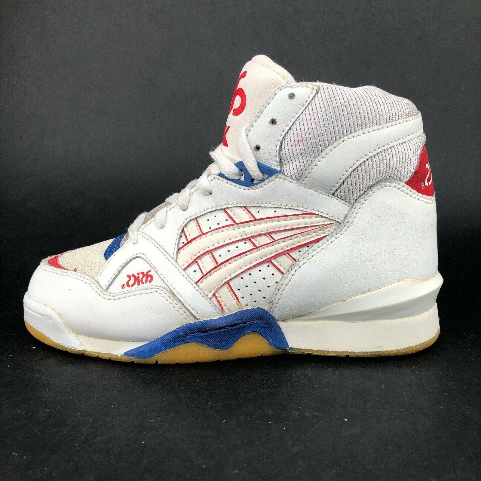 ASICS White High Basketball Sneakers Ups