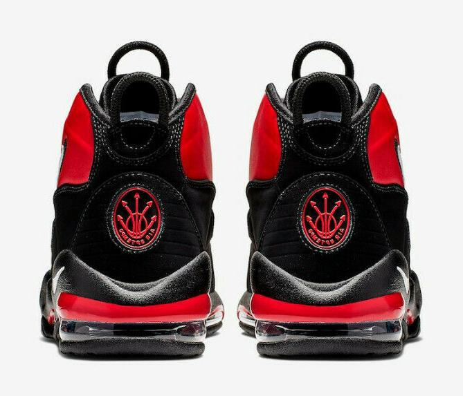 MENS NIKE MAX UPTEMPO BASKETBALL SHOES 12 / RED