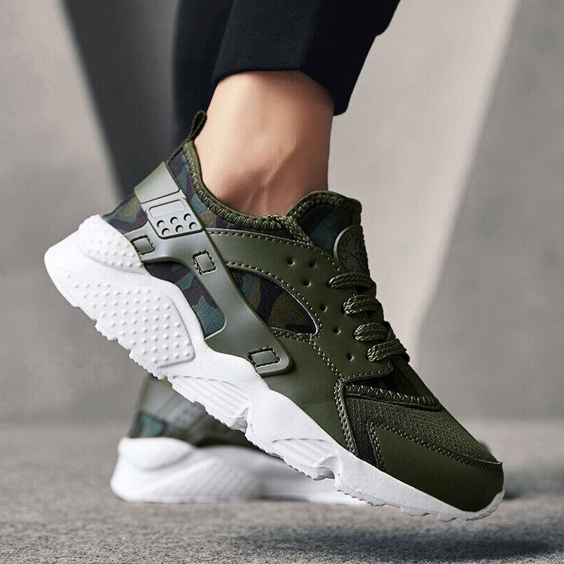 Mens Sneakers Jogging Running Shoes Comfort US